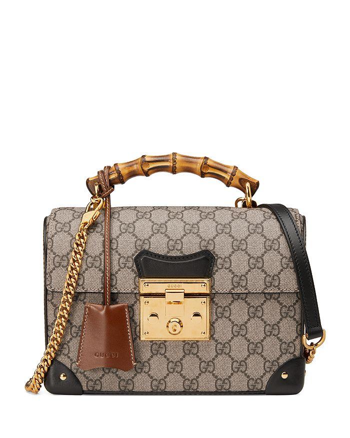 Gucci - Padlock GG Small Bamboo Shoulder Bag