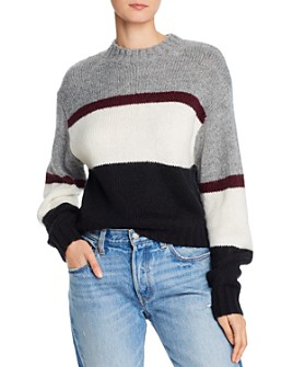 Rebecca Minkoff - Liliana Striped & Color-Blocked Sweater