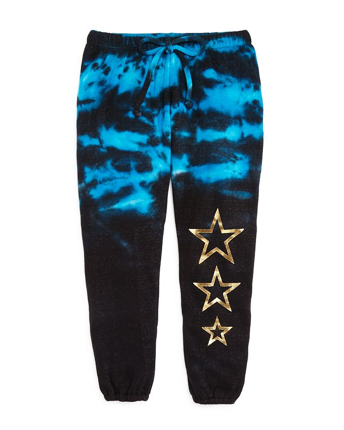 Play Six - Girls' Tie-Dye Star Jogger Pants - Little Kid