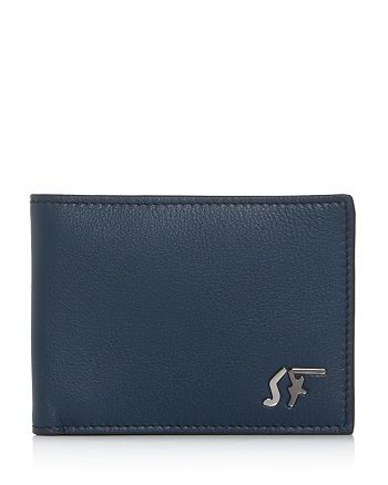 Salvatore Ferragamo - Signature Logo Leather Bi-Fold Wallet