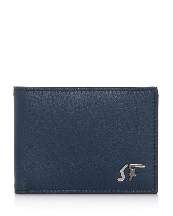Salvatore Ferragamo - Signature Logo Leather Bi-Fold Wallet