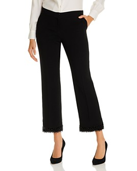 Lafayette 148 New York - Flared Beaded Ankle Pants