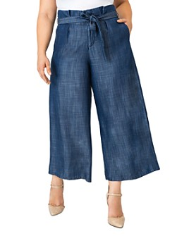 standards & practices - Happer Cropped Wide-Leg Pants