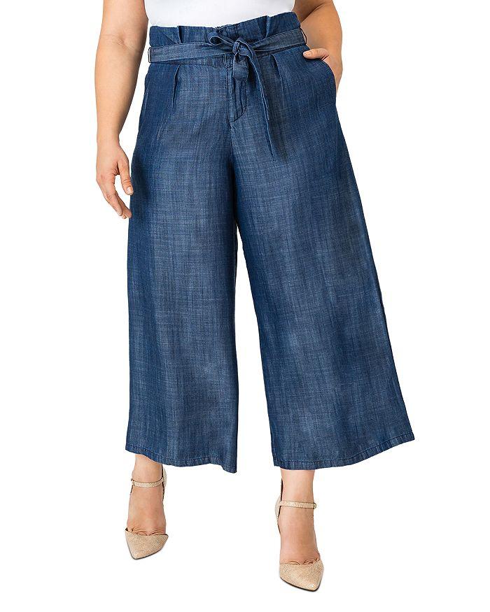 standards & practices - Happer Cropped Wide-Leg Pants