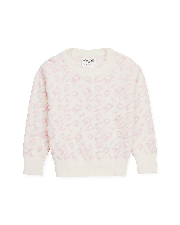 Sovereign Code - Girls' Aaliyah Leopard-Pattern Sweater - Little Kid, Big Kid