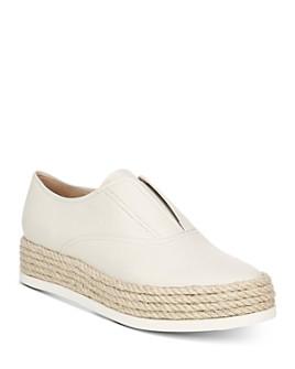 Via Spiga - Women's Berta Slip-On Platform Sneakers