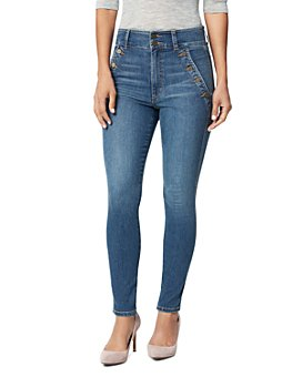 Joe's Jeans - The High-Rise Skinny Jeans in Coyote