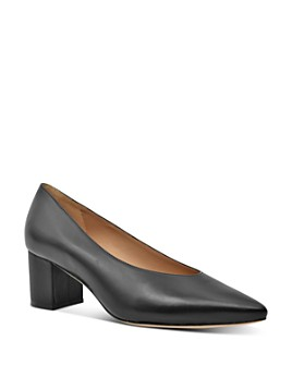 Joan Oloff - Women's Claudette Block Heel Pumps