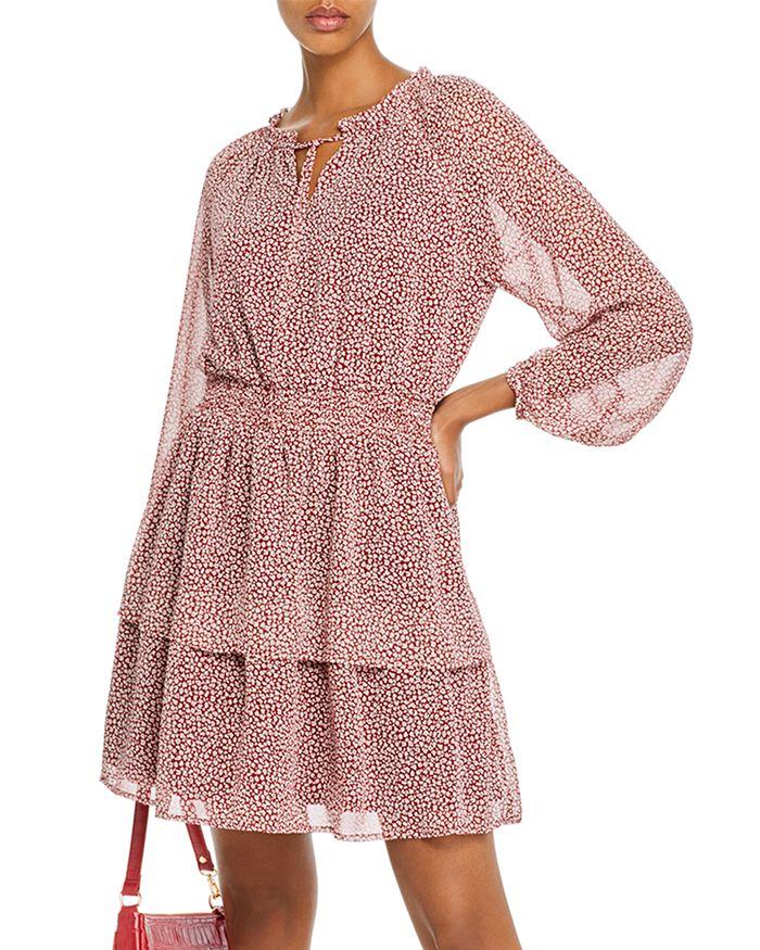AQUA - Micro Leopard-Print Dress - 100% Exclusive