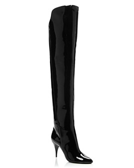 Saint Laurent - Women's Kiki 85 Over-the-Knee Boots