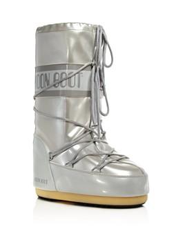 Moon Boot - Women's Vinile Met Vinyl Snow Boots