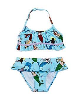 Stella McCartney - Girls' Mermaid Print Two-Piece Swimsuit - Little Kid