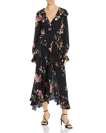 Preen Line - Eden Asymmetric Midi Wrap Dress