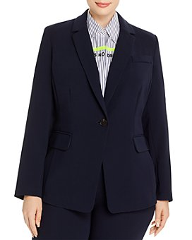 Marina Rinaldi - Caracas One-Button Notch-Lapel Blazer