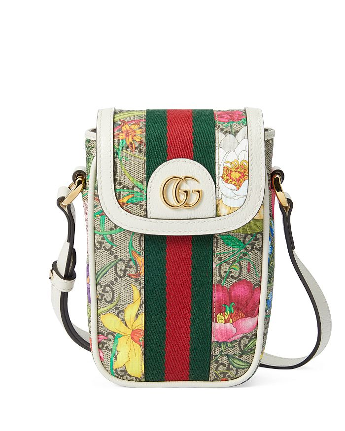 Gucci - Ophidia GG Flora Wallet
