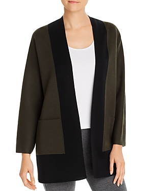 Eileen Fisher Sweaters OPEN COLOR-BLOCK SWEATER