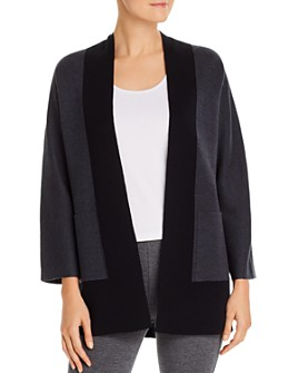 Eileen Fisher - Open Color-Block Sweater