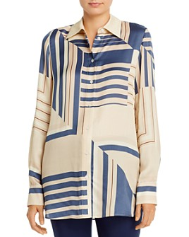 Lafayette 148 New York - Michelle Printed Blouse