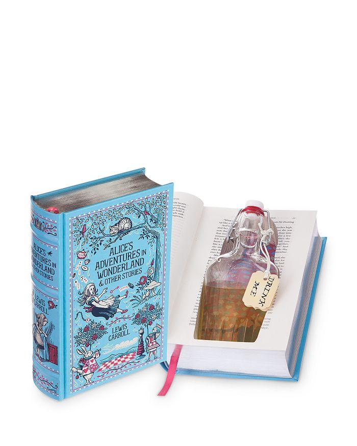 BookRooks - Alice's Adventures in Wonderland Flask Safe