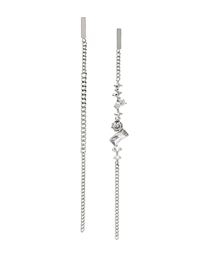 Allsaints Accessories STONE MISMATCHED LINEAR EARRINGS