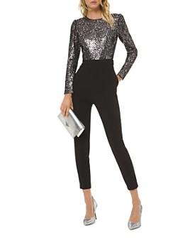 MICHAEL Michael Kors - Sequined Lace Jumpsuit