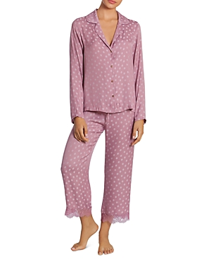 Midnight Bakery Polka Dot Jacquard Pajama Set