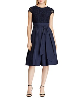 Ralph Lauren - Lace and Taffeta Party Dress