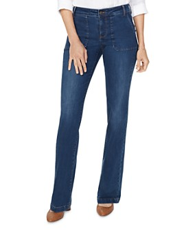 NYDJ - Modern Trouser Flared Jeans in Cooper