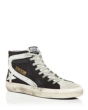 Golden Goose Deluxe Brand Unisex Slide High-Top Sneakers