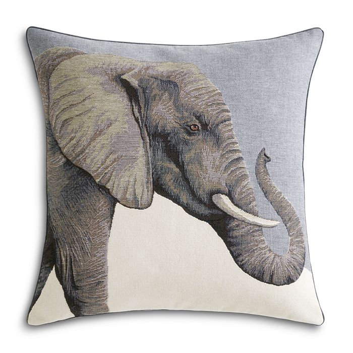 "Yves Delorme - Djumbe Decorative Pillow, 18"" x 18"""