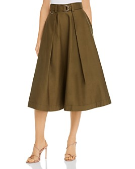 MSGM - Gonna Pleated Midi Skirt