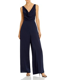 Finders Keepers - Gabriella Cowl-Neck Wide-Leg Jumpsuit