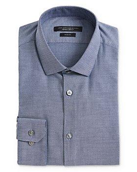 John Varvatos Star USA - Textured-Weave Slim Fit Dress Shirt