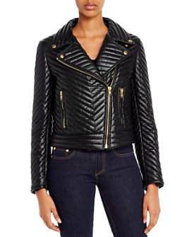 Escada Sport - Limana Leather Moto Jacket