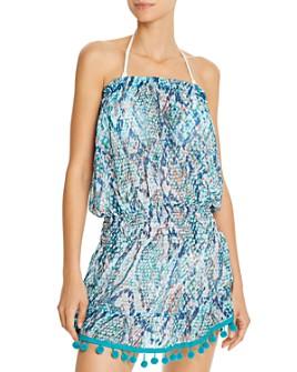 Ramy Brook - Viper Printed Marcie Dress Swim Cover-Up