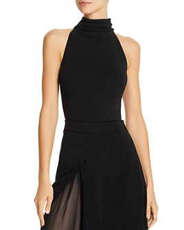 Cushnie - Sleeveless Open-Back Bodysuit
