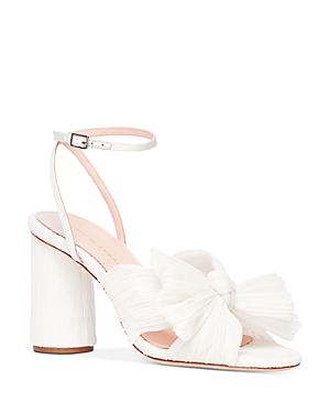 Women's Camellia Bow High Heel Sandals