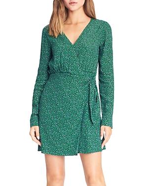 Sanctuary Micro Leopard Printed Wrap Dress-Women