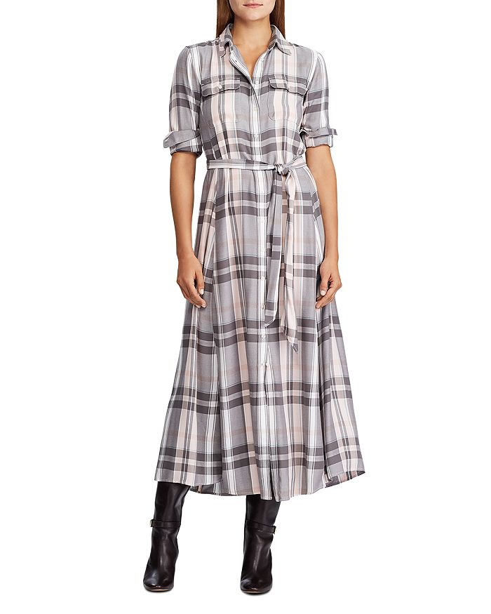 Ralph Lauren - Plaid Shirt Dress