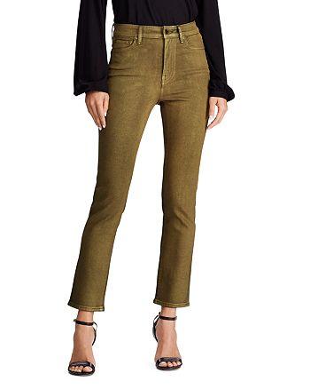 Ralph Lauren - Straight Ankle Jeans in Bronze