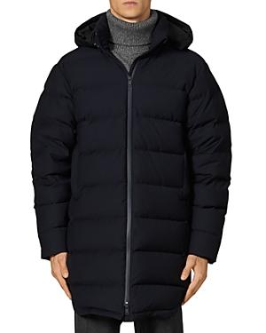Sandro Long Down Puffer Jacket-Men