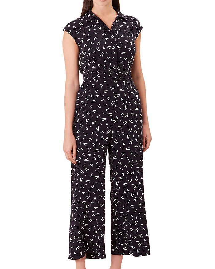 HOBBS LONDON - Belinda Cropped Wide-Leg Jumpsuit