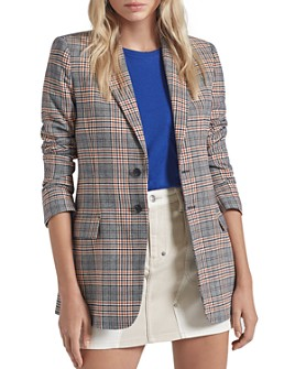 Current/Elliott - The Calla Glen Plaid Blazer