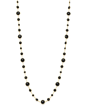 Ippolita 18K Yellow Gold Lollipop Lollitini Onyx Statement Necklace, 36