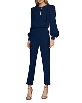 ML Monique Lhuillier - Ruffle-Trimmed Jumpsuit
