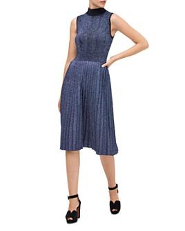 kate spade new york - Metallic Knit Dress