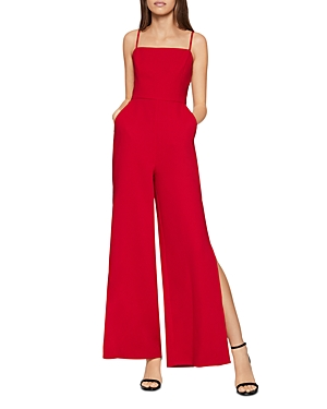 Bcbgeneration Suits BCBGENERATION SIDE-SLIT WIDE-LEG JUMPSUIT