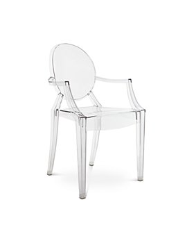 Kartell - Louis Ghost Arm Chair, Set of Two