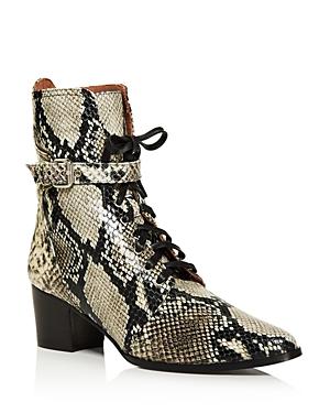 Tabitha Simmons Boots WOMEN'S PORTER BLOCK HEEL BOOTIES