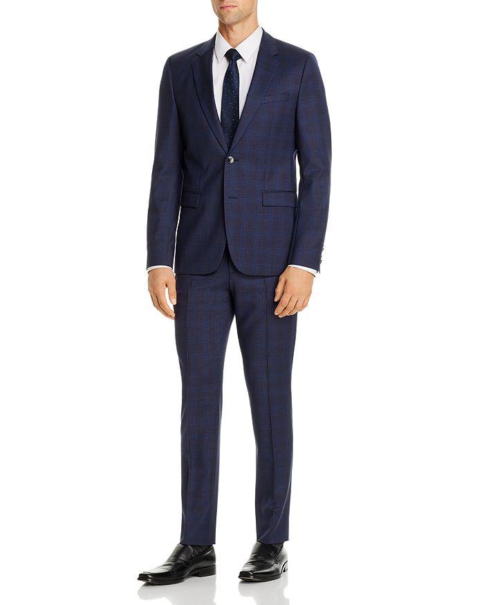 HUGO - Hets Tonal Plaid Extra Slim Fit Suit Separates